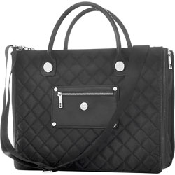"KNOMO LONDON Aurora 15"" Laptop Bag (Black) - 24-263-BLK"