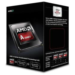 AMD Quad-Core A10-Series APU A10-6800K 4.1GHz Processor with Radeon HD 8670D (AD680KWOHLBOX)