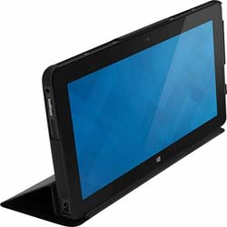 Dell Tablet Folio Flip cover for Tablet (Black) - 460-12197