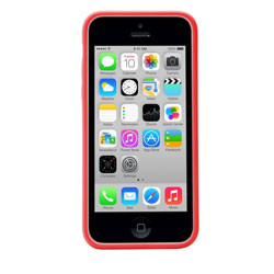 Targus Slim View Case for iPhone 5C (Red) - TFD12202AP