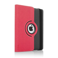 Targus Versavu Case for The new iPad 3 / iPad 4 (Charcoal Gray/Calypso Pink) - THZ15606AP-50