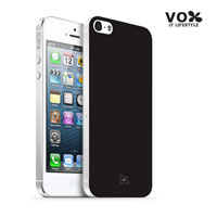 VOX iPhone 5 PC Glossy Case (Black) - A5IPN-VX12-A501