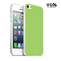 VOX iPhone 5 PC Glossy Case (Green) - A5IPN-VX12-A503
