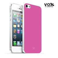 VOX iPhone 5 PC Glossy Case (Pink) - A5IPN-VX12-A504