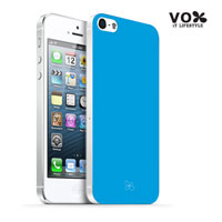 VOX iPhone 5 PC Glossy Case (Sky Blue) - A5IPN-VX12-A505