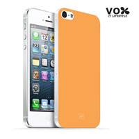 VOX iPhone 5 PC Glossy Case (Orange) - A5IPN-VX12-A506