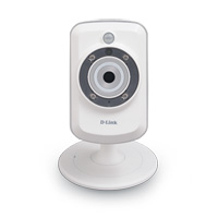 D-Link DCS-942L mydlink Cloud Wireless-N 300 H.264 Infrared IP Network Camera