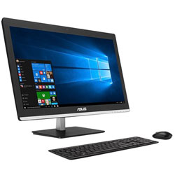 ASUS V220IAUKBA001F All-in-One Desktop PC (Intel Core i3-5005U Processor 2.0GHz, 4GB RAM, 1TB HDD, Dos) (Black)