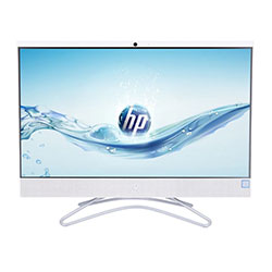 HP 24-f0049d All-in-One PC (Intel Core i5-8400T Processor 1.7GHz, 8GB RAM, 1TB HDD, Windows 10 Home) (White) - 4YT14AA