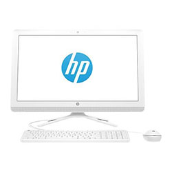 HP 20-c407d All-in-One Desktop PC (Intel Pentium Silver J5005 Processor 1.5GHz, 4GB RAM, 1TB HDD, Windows 10 Home) - 3JU90AA