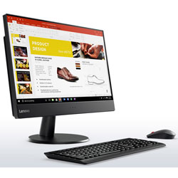 Lenovo ThinkCentre V510z All-in-one PC (Intel Core i5-6400T Processor 2.2GHz, 4GB RAM, 1TB HDD, Dos) (Black) - 10NH007RTA