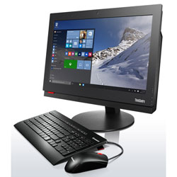 Lenovo ThinkCentre M700z All-in-one Desktop PC (Intel Core i3-6100T Processor 3.2GHz, 4GB RAM, 1TB HDD, Windows 7) - 10EYA058TB