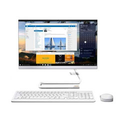 Lenovo IdeaCentre A340-22IWL Touch All-in-one PC (Intel Core i3-8145U Processor 2.10GHz, 8GB RAM, 1TB HDD, Windows 10 Home) (White) - F0EB0055TA