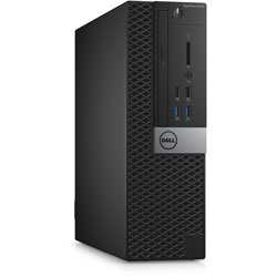 Dell OptiPlex 3046 Small Form Factor Desktop PC (Intel Core i3-6100 Processor 3.70GHz, 4GB RAM, 1TB HDD, Ubuntu) - SNS34SF005