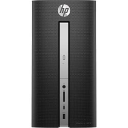 HP 570-p051l Desktop PC (Intel Core i5-7400 processor 3.0GHz, 4GB RAM, 1TB HDD, Dos) - Z8H58AA