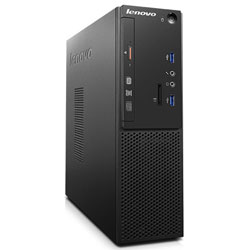 Lenovo ThinkCentre S510 Small Form Factor Desktop PC (Intel Pentium Dual Core G4400 Processor 3.3GHz, 4GB RAM, 1TB HDD, Dos) - 10L0A02PTA