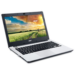 Acer Aspire E5-411G-P3GH_ Pearl White Laptop Notebook (Intel Pentium Processor N3540 2.16 GHz, 4GB RAM, 500GB HDD, Linpus Linux)