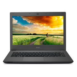 Acer Aspire E5-422G-46DU_Mineral Gray Laptop Notebook (AMD quad-core processor A4-7210 1.8GHz, 4GB RAM, 500GB HDD, Linpus Linux)