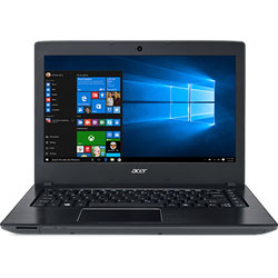 Acer Aspire E5-475-316S Laptop Notebook (Intel Core i3-6006U Processor 2.0GHz, 4GB RAM, 500GB HDD, Linpus Linux) (Steel Grey) - NXGCUST005
