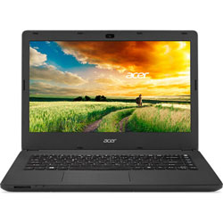 Acer Aspire ES1-421-217P Laptop Notebook (AMD E-Series quad-core E2-6110 1.5GHz, 2GB RAM, 500GB HDD, Linpus Linux) (Black) - NXMY2ST010