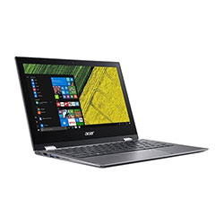 Acer Spin1 SP111-32N-P0N7 Touch Laptop Notebook (Intel Pentinum N4200 1.1GHz, 4GB RAM, 64GB EMMC, Windows 10 Home) (Steel Gray) - NXGRMST007