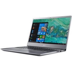 Acer Swift3 SF314-54G-82YK Laptop Notebook (Intel Core i7-8550U Processor 1.8GHz, 8GB RAM, 256GB SSD, Windows 10 Home) (Sparkly Silver) - NXGY2ST004