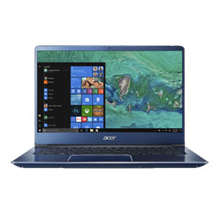 Acer Swift3 SF314-54G-31AR Laptop Notebook (Intel Core i3-8130U Processor 2.2GHz, 4GB RAM, 1TB HDD, Windows 10 Home) (Stellar Blue) - NXGYNST002
