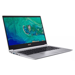 Acer Swift SF314-55-32G5 Laptop Notebook (Intel Core i3-8145U Processor 2.1GHz, 4GB RAM, 128GB SSD, Windows 10 Home) (Sparkly Silver) - NXH3XST001