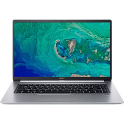 Acer Swift SF515-51T-545K Touch Laptop Notebook (Intel Core i5-8265U 1.6GHz, 8GB RAM, 256GB SSD, Windows 10 Home) (Pure Silver) - NXH7QST001