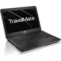 Acer TravelMate TMP243-M-33114G50Makk Laptop Notebook (Intel® Core i3-3120M processor 2.5 GHz, 4GB RAM, 500GB HDD, Windows 7) - Black