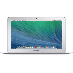 Apple MacBook Air 11.6-inch (Intel Core i5 dual-core 1.4GHz, 4GB RAM, 128GB flash storage, OS X Mavericks)