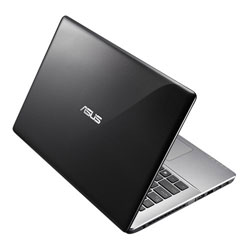 ASUS K455LB-WX044D Laptop Notebook (Intel Core i5-5200U Processor 2.2GHz, 4GB RAM, 1TB HDD, Dos) - Black metal with hairline pattern