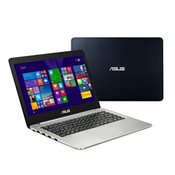 ASUS K401LB-FA012D Laptop Notebook (Intel Core i5-5200U Processor 2.2GHz, 4GB RAM, 1TB HDD + 24GB MSATA SSD, Dos) - Black