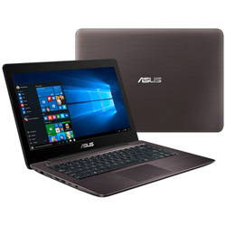 ASUS K456UR-WX004D Laptop Notebook (Intel Core i5-6200U Processor 2.3GHz, 4GB RAM, 1TB HDD, Dos) - Brown