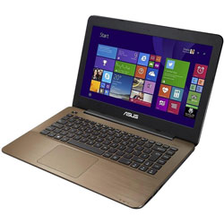 ASUS K456UV-WX008D Laptop Notebook (Intel Core i5-6200U Processor 2.3GHz, 4GB RAM, 1TB HDD, Dos) - Glossy Dark Brown