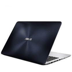 ASUS K556UR-XX033D Laptop Notebook (Intel Core i5-6200U Processor 2.3GHz, 4GB RAM, 1TB HDD, Dos) - Matt Dark Blue