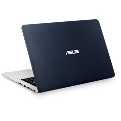 ASUS K401UB-FR009D Laptop Notebook (Intel Core i5-6200U Processor 2.3GHz, 4GB RAM, 1TB HDD + 24GB SSD, Dos) - Grey