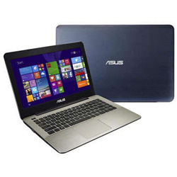 ASUS K456UF-WX066D Laptop Notebook (Intel Core i5-6200U Processor 2.3GHz, 4GB RAM, 1TB HDD, Dos) - Blue