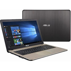 ASUS K540LJ-XX122D Laptop Notebook (Intel Core i3-4005U Processor 1.7GHz, 4GB RAM, 500GB HDD, Dos) - Chocolate Black