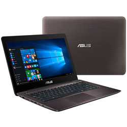 ASUS K456UR-FA144 Laptop Notebook (Intel Core i5-7200U Processor 2.5GHz, 4GB RAM, 1TB HDD, ENDLESS) (Glossy Dark Brown)
