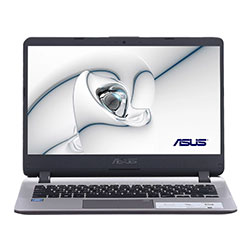 Asus X407MA-BV192T Laptop Notebook (Intel Pentium Silver N5000 Processor 1.1GHz, 4GB RAM, 256GB SSD, Windows 10) - Icicle Gold