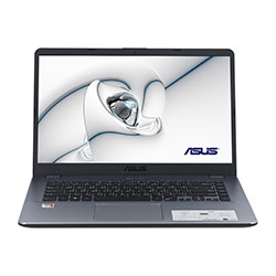 Asus X505BA-EJ447T Laptop Notebook (AMD A6-9225 Processor 2.6 GHz, 4GB RAM, 1TB HDD, Windows 10 Home) - Matt Dark Grey