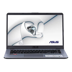 Asus X505ZA-EJ510T Laptop Notebook (AMD R5-2500U Processor 2.0GHz, 8GB RAM, 1TB HDD, Windows 10 Home) - Stary Grey