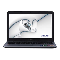 Asus X555QA-DM209T Laptop Notebook (AMD A12-9720P Processor 2.7GHz, 4GB RAM, 1TB HDD, Windows 10 Home) - Black