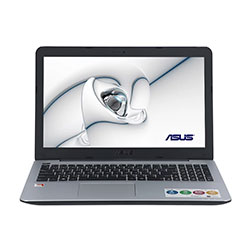 Asus X555QG-DM397T Laptop Notebook (AMD A12-9700P Processor 2.5GHz, 4GB RAM, 1TB HDD, Windows 10 Home) - Black