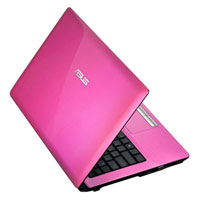 ASUS A43SD-VX594D (Intel® Core™i3-2350M 2.3GHz, 4GB RAM, 640GB HDD, DOS) - Pink