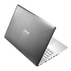 ASUS N550JK-CN504H Laptop Notebook (Intel Core i7-4710HQ Processor 2.5 GHz , 8GB RAM, 1TB HDD, Windows 8.1) - Aluminum/Steel Gray