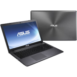 ASUS P450LDV-WO273D Laptop Notebook (Intel Core i5-4210U Processor 1.7 GHz, 4GB RAM, 500GB HDD, Dos) - Black with spin pattern
