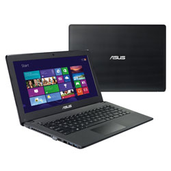 ASUS X452EA-VX082D Laptop Notebook (AMD Dual-Core E1-2500 1.40 GHz, 4GB RAM, 500GB HDD, Dos) - Black