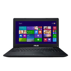 ASUS X453MA-WX186D Laptop Notebook (Intel Quad-Core Pentium N3540 Processor 2.16 GHz, 4GB RAM, 500GB HDD, Dos) - Black